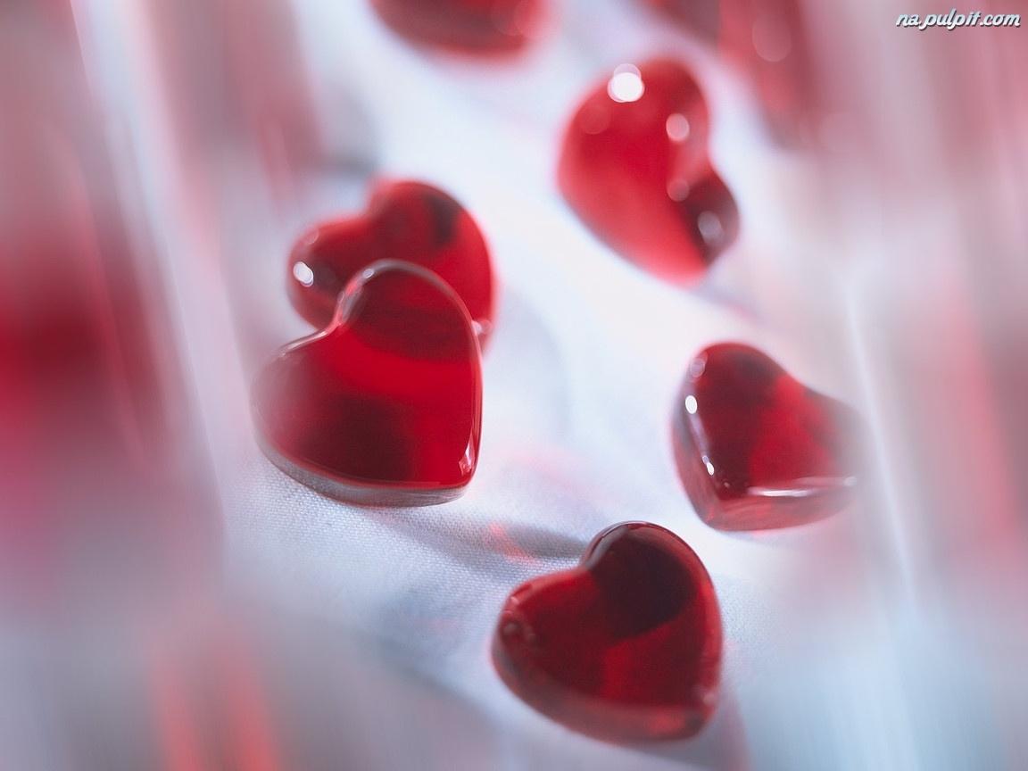 Serduszka czerwone walentynkowe na pulpit for Pc in regalo gratis